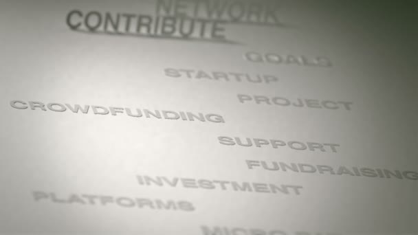 Crowdfunding Concept Animation
