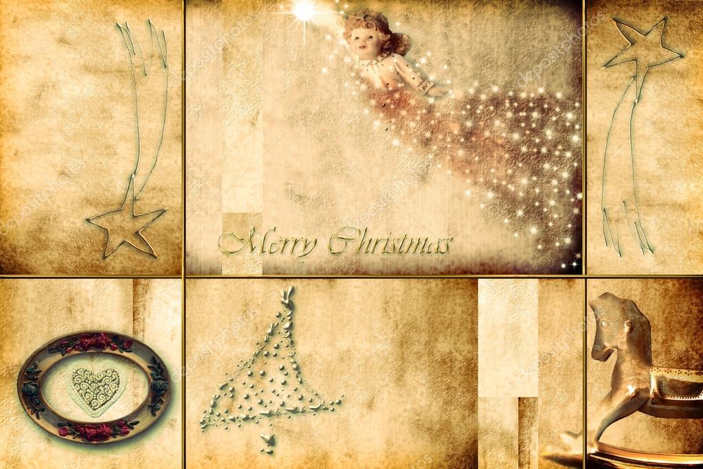 Auguri Di Natale Religiose.Cartolina D Auguri Di Natale Religiosa Foto Stock C Risia 125604676