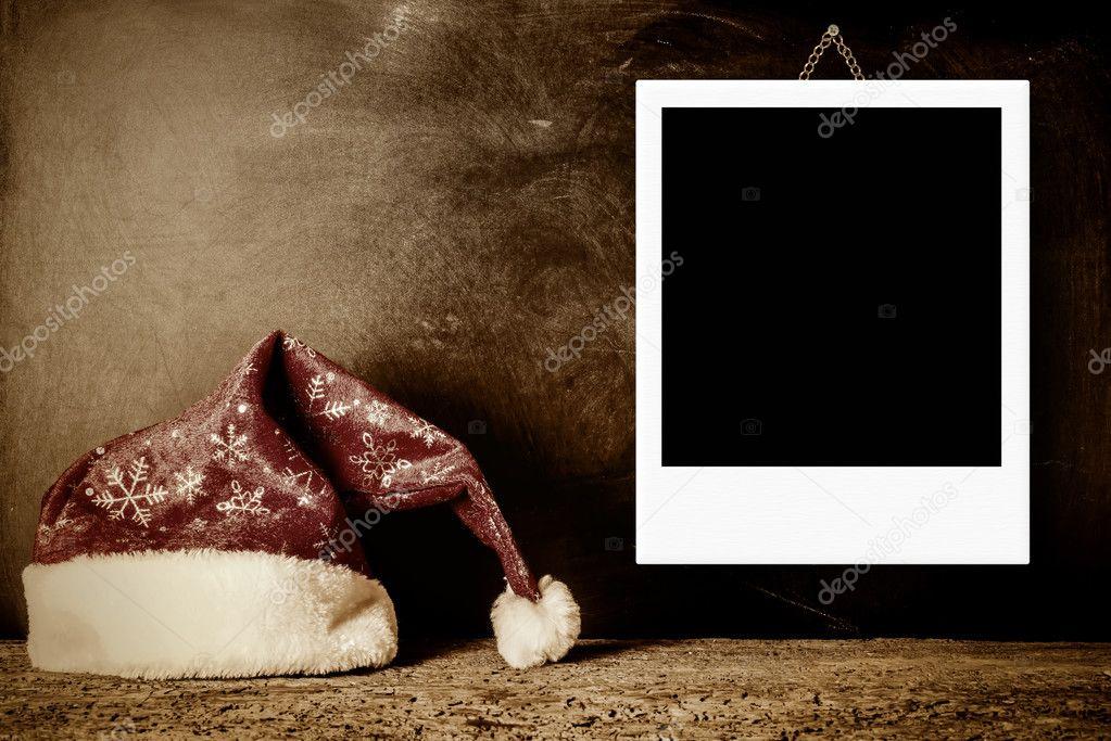 Marco de fotos de Navidad para una foto — Foto de stock © Risia ...