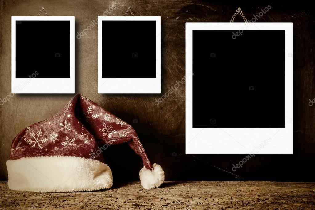 Marcos Navidad para tres fotos — Fotos de Stock © Risia #125752912