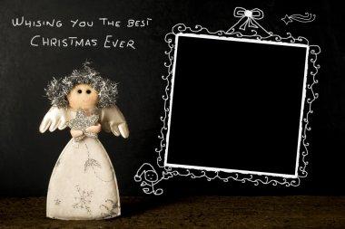 Funny Christmas photo frame card