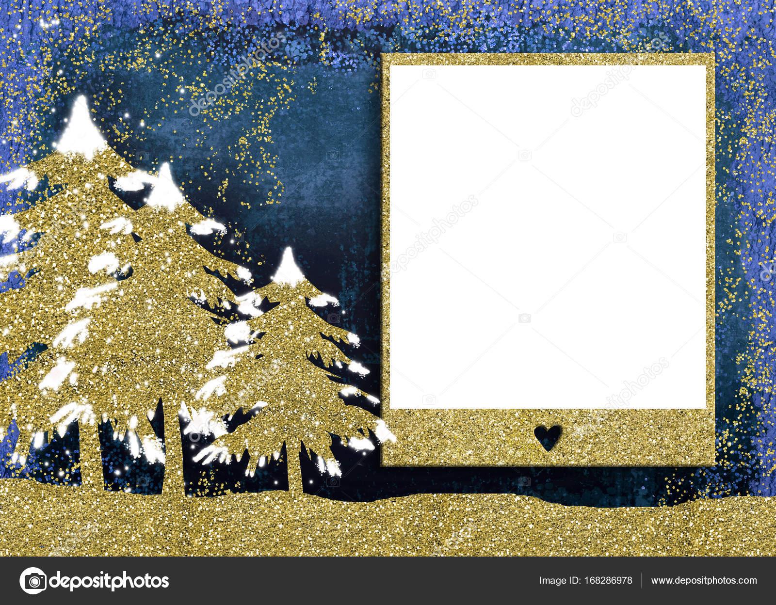 Christmas photo frame cards. — Stock Photo © Risia #168286978