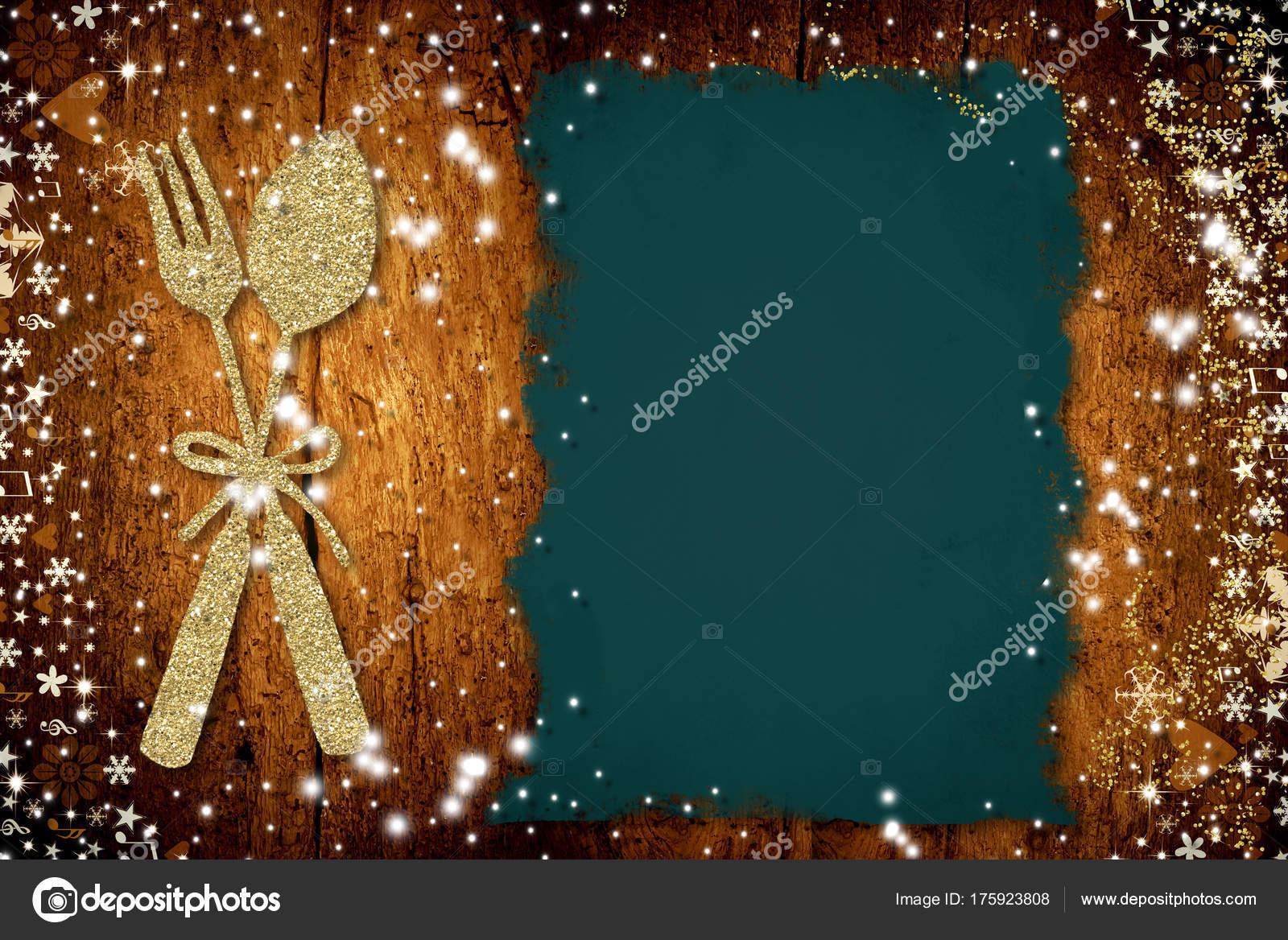 Scrivere Menu Di Natale.Sfondo Per Scrivere Menu Di Natale Foto Stock C Risia