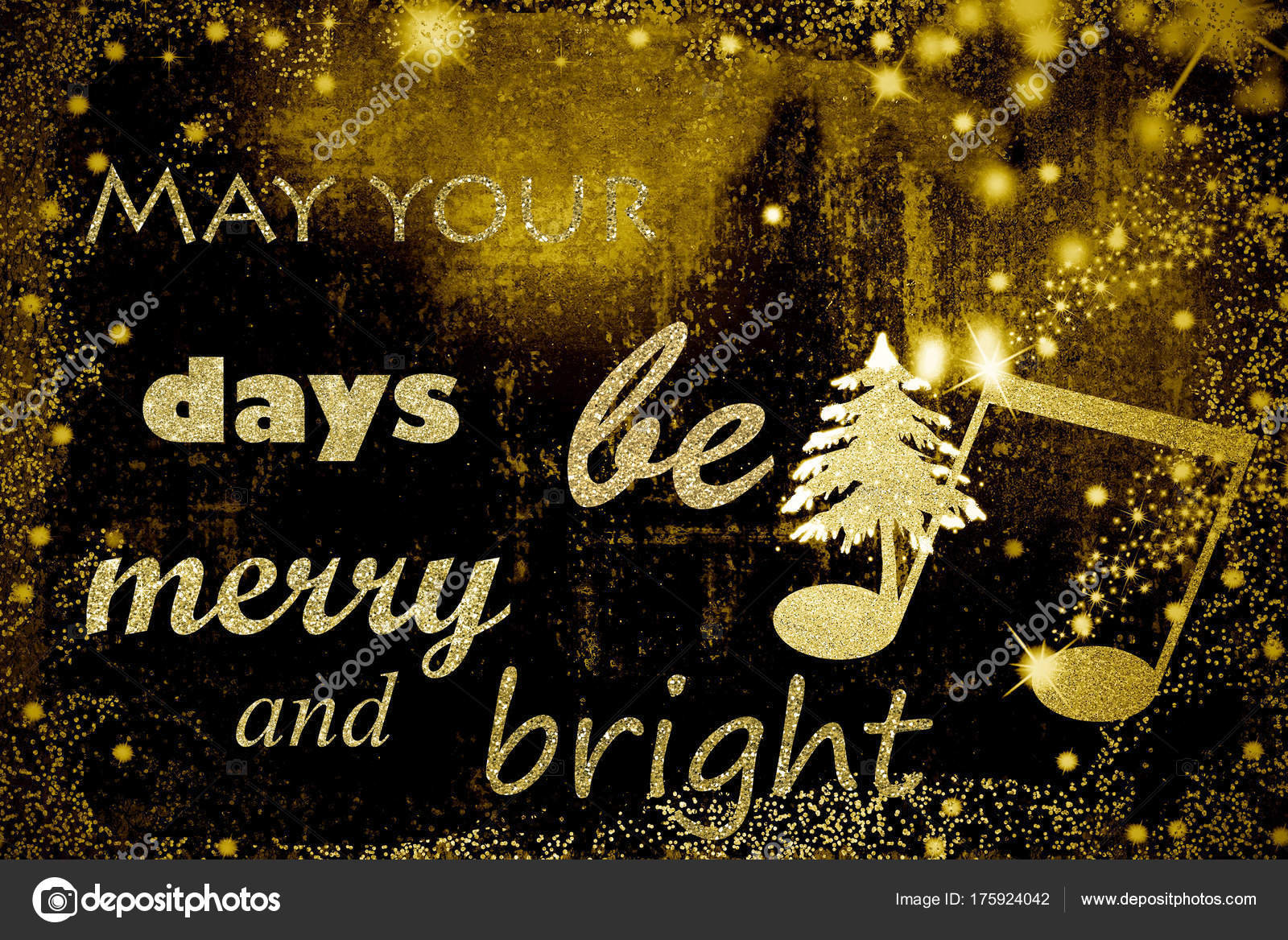 Phrase For Christmas Greeting Cards Stock Photo Risia 175924042