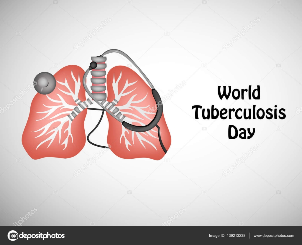 Illustration Of Elements For Tuberculosis Day Stock Vector
