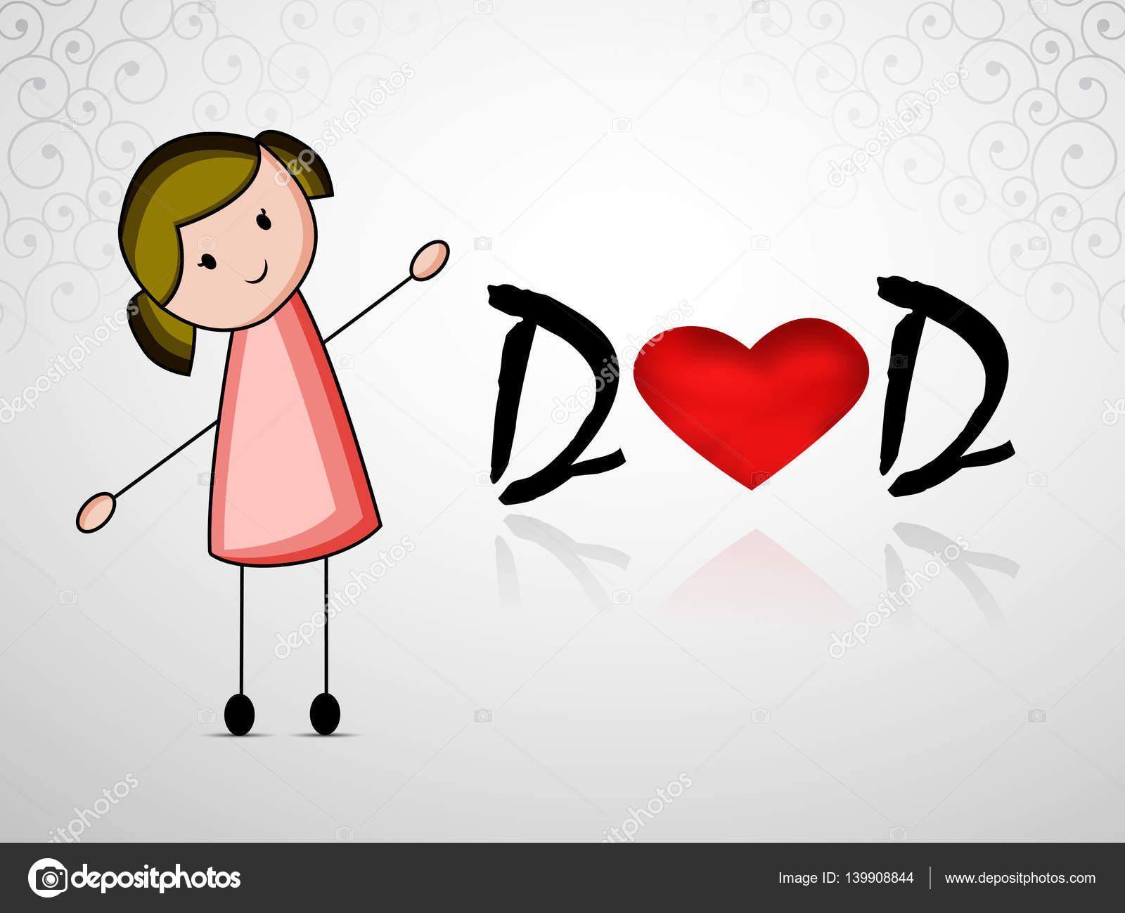 Fondo Dia Del Padre: Ilustración De Fondo Para El Día Del Padre