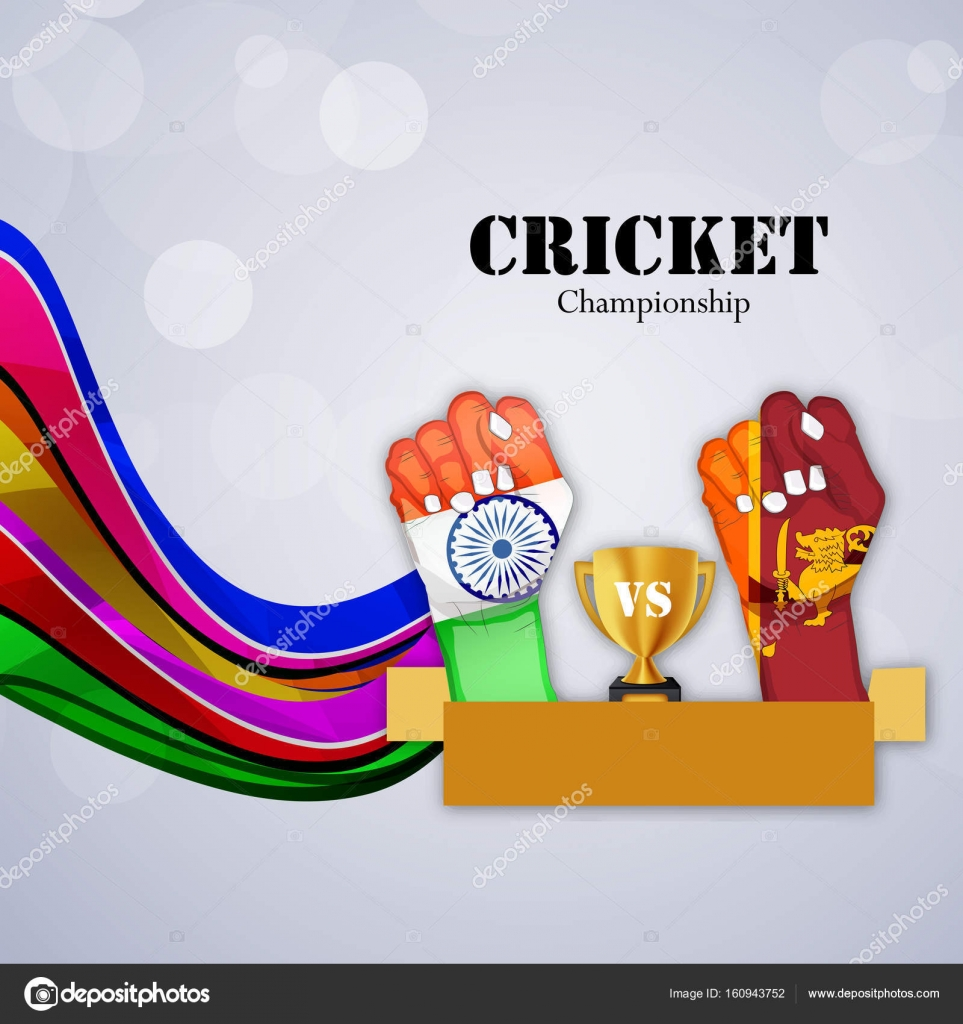 Illustration Of Sport Cricket Background On The Event Of