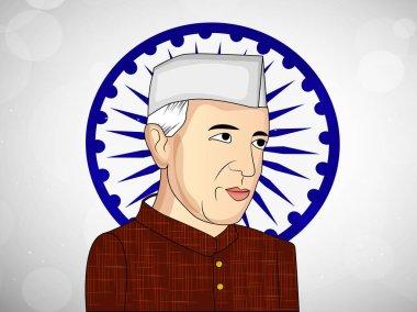 Illustration of background for Jawaharlal Nehru Jayanti