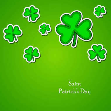 illustration of elements of St. Patricks Day background