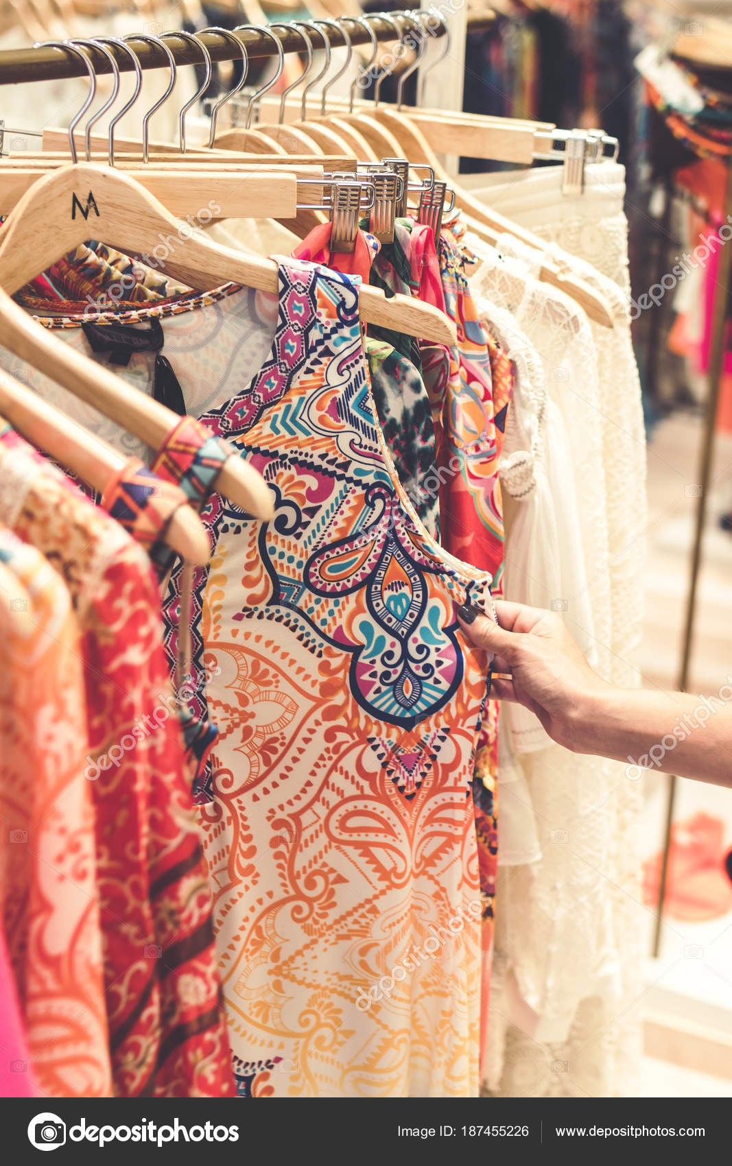 Women Clothing Store On Bali Island Indonesia Shopping Concept