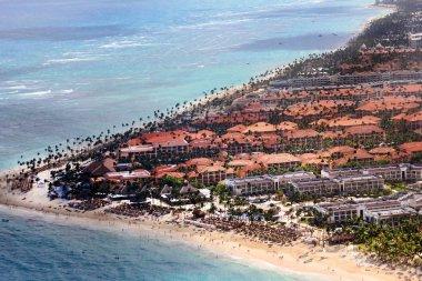 Hotels on the Atlantic coast. Dominican Republic