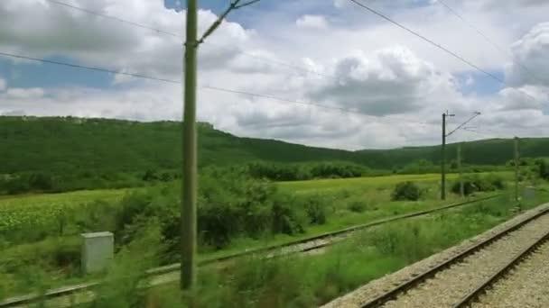 Cestování vlakem Evropské