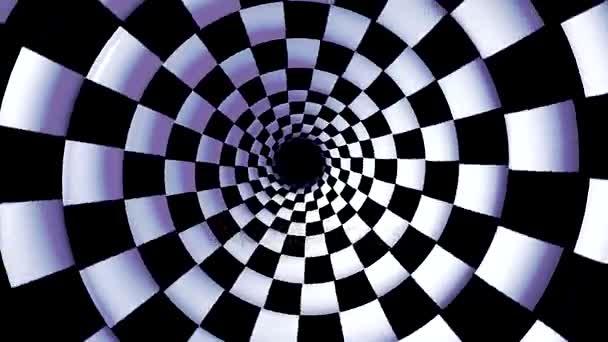 Végtelen forgó hipnotikus spirál loopable animáció