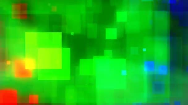 abstrakte bunte Quadrate Video-Hintergrund-Schleife