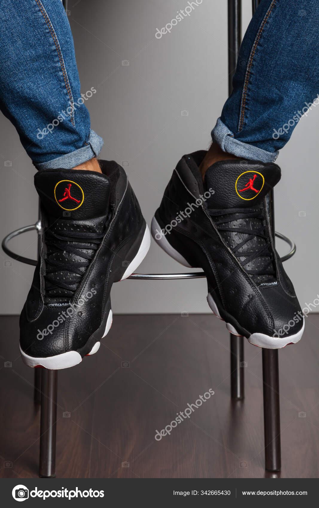 New Beautiful Colorful Nice Jordan Air Max Running Shoes Sneakers Stock Editorial Photo C Sozon 342665430