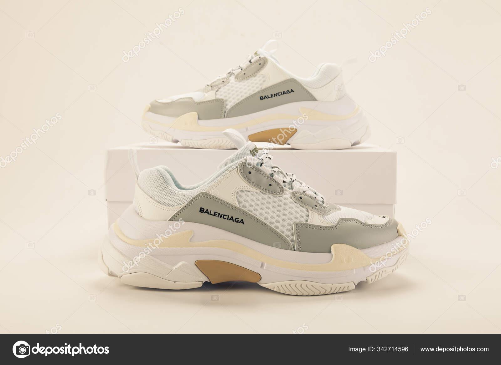 balenciaga colorful sneakers