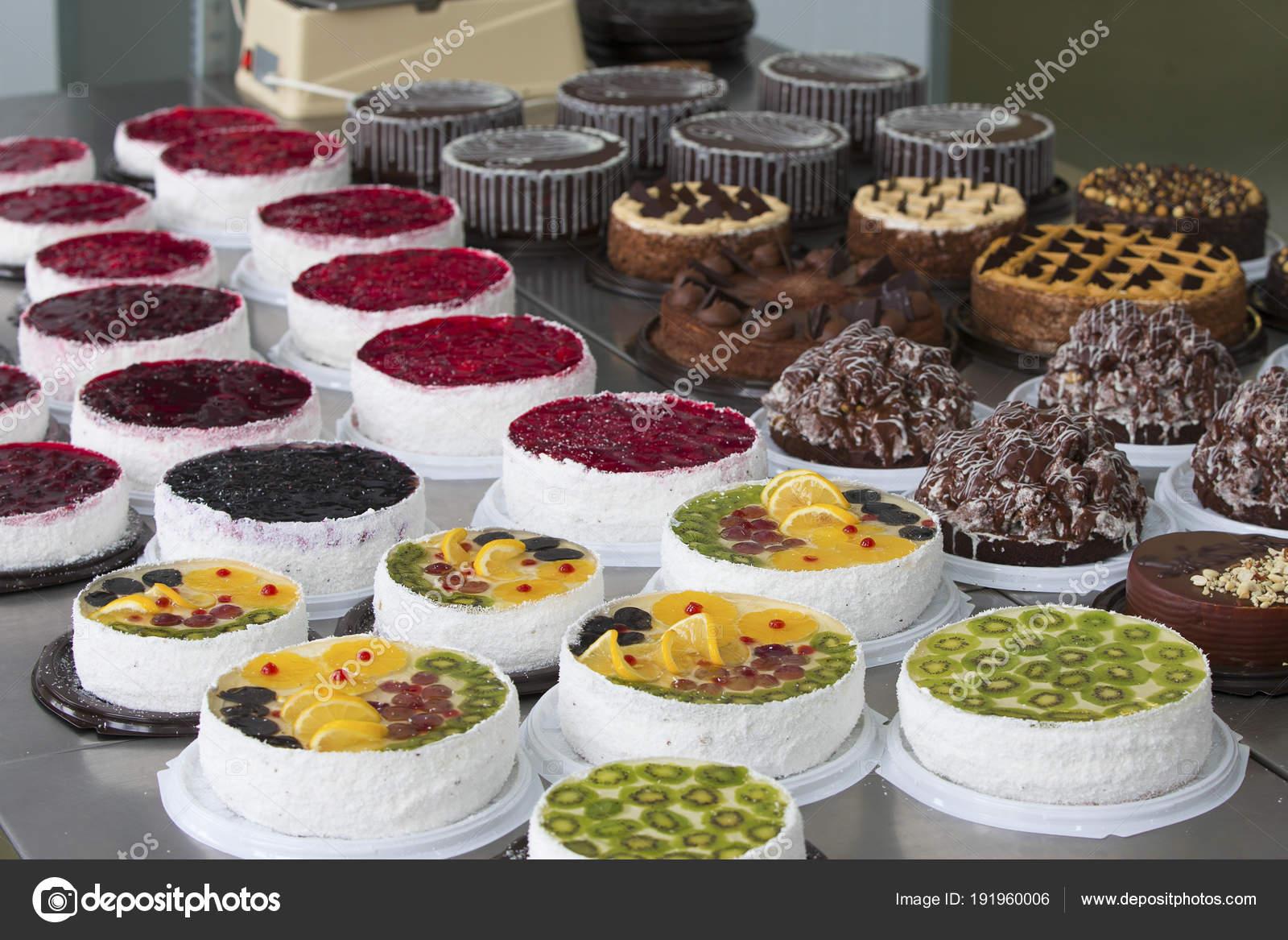 Kuchen Und Backen Linie Produktionslinie Von Kuchen Viele Schone