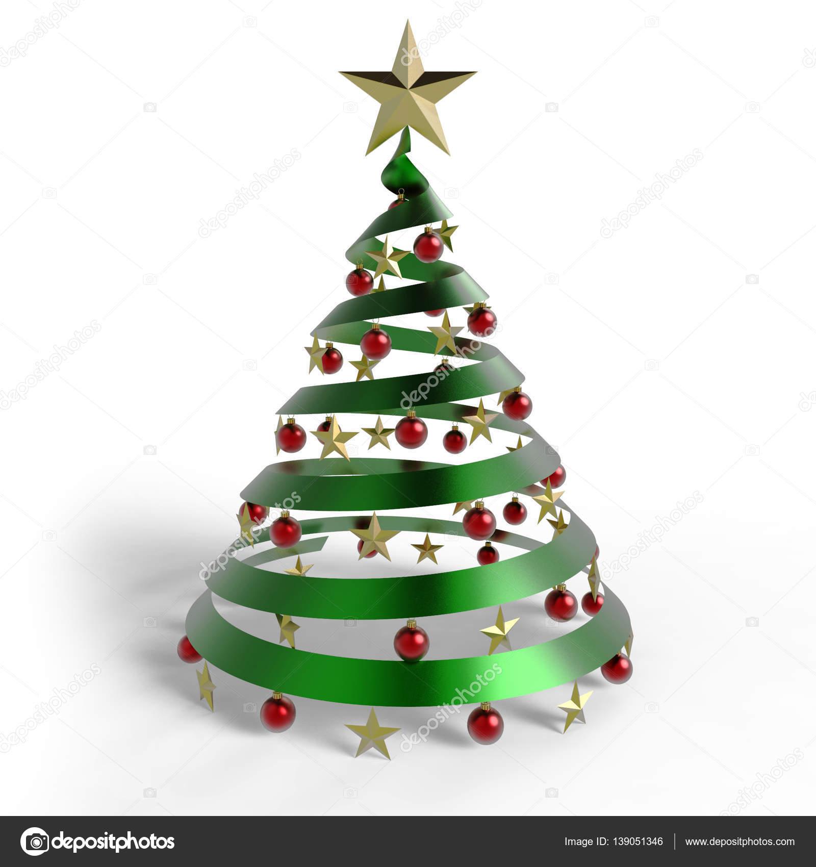 Como hacer un arbol de navidad en espiral
