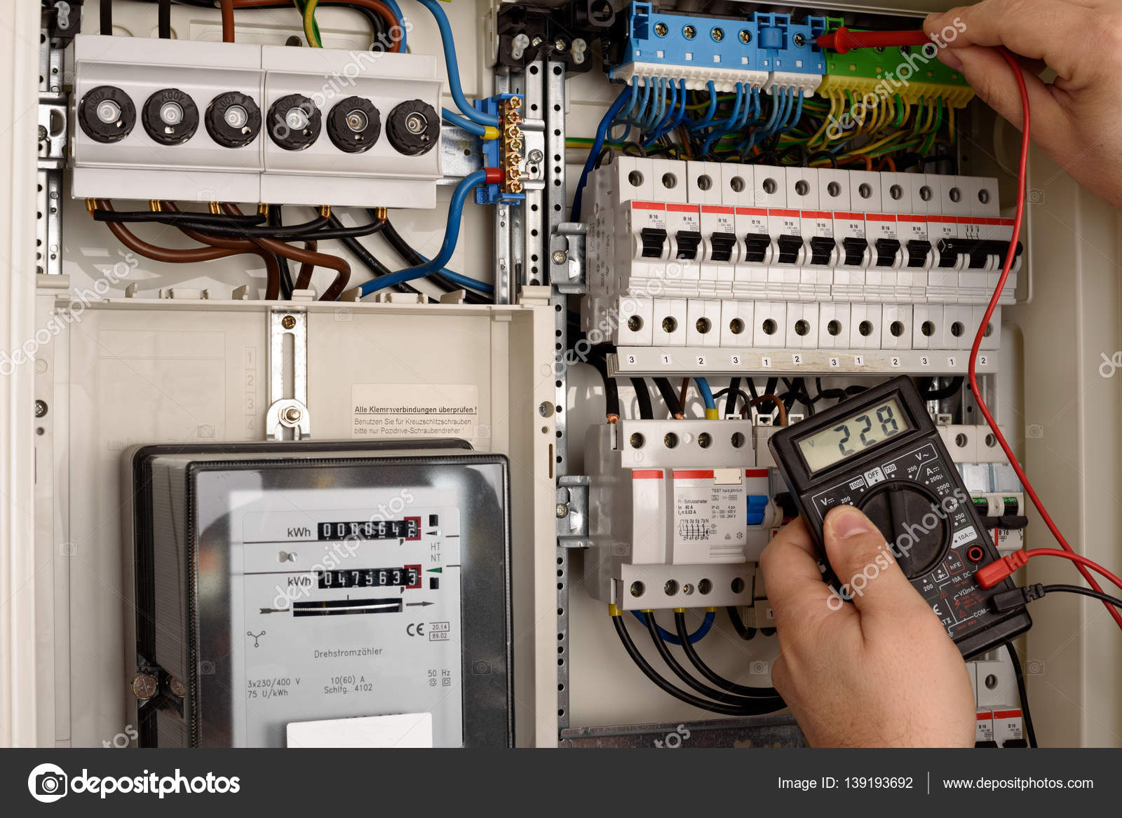 depositphotos_139193692 stock photo electric fuse box inside electric fuse box inside stock photo � tom19275 139193692 General Electric Fuse Box at bayanpartner.co
