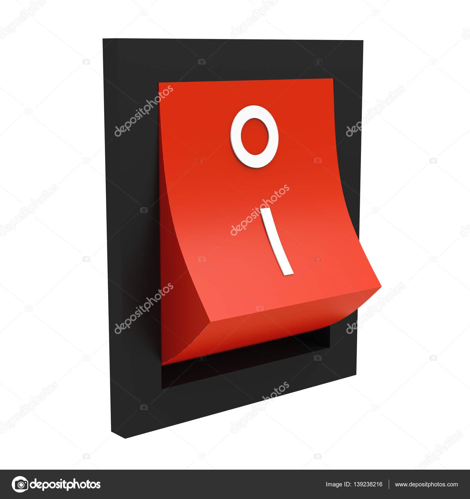 Elektrische Schalter auf weiß — Stockfoto © tom19275 #139238216