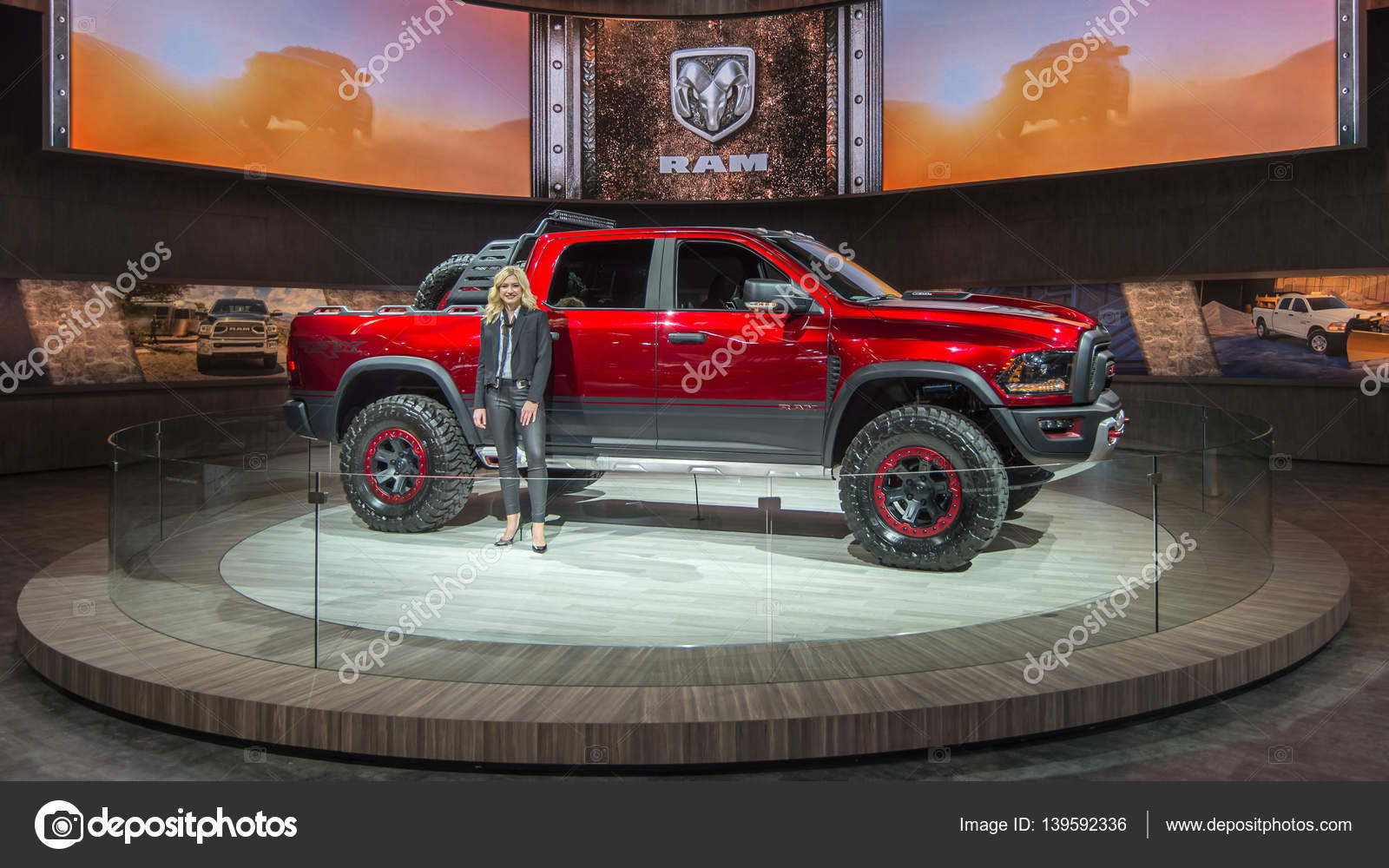Ram Rebel Price >> Dodge RAM 1500 Hellcat Rebel TRX Concept – Stock Editorial Photo © slagreca@gmail.com #139592336