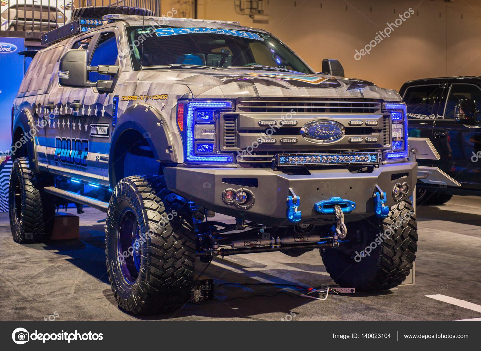 Matchbox Politie Thema Vrachtwagen 2017 F 350 Ford Super