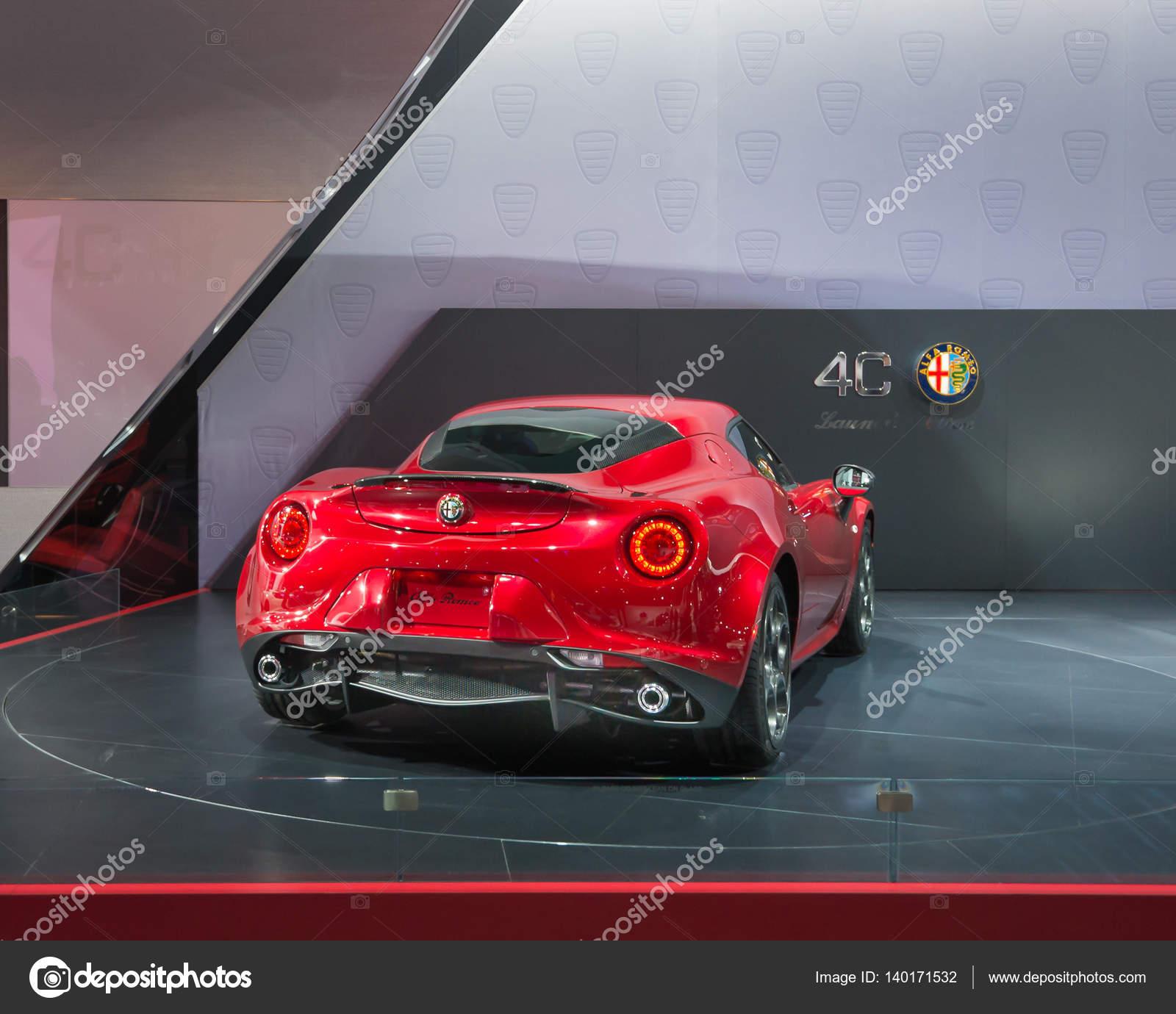 Alfa Romeo 4c Spider Stock Editorial Foto © slagreca gmail