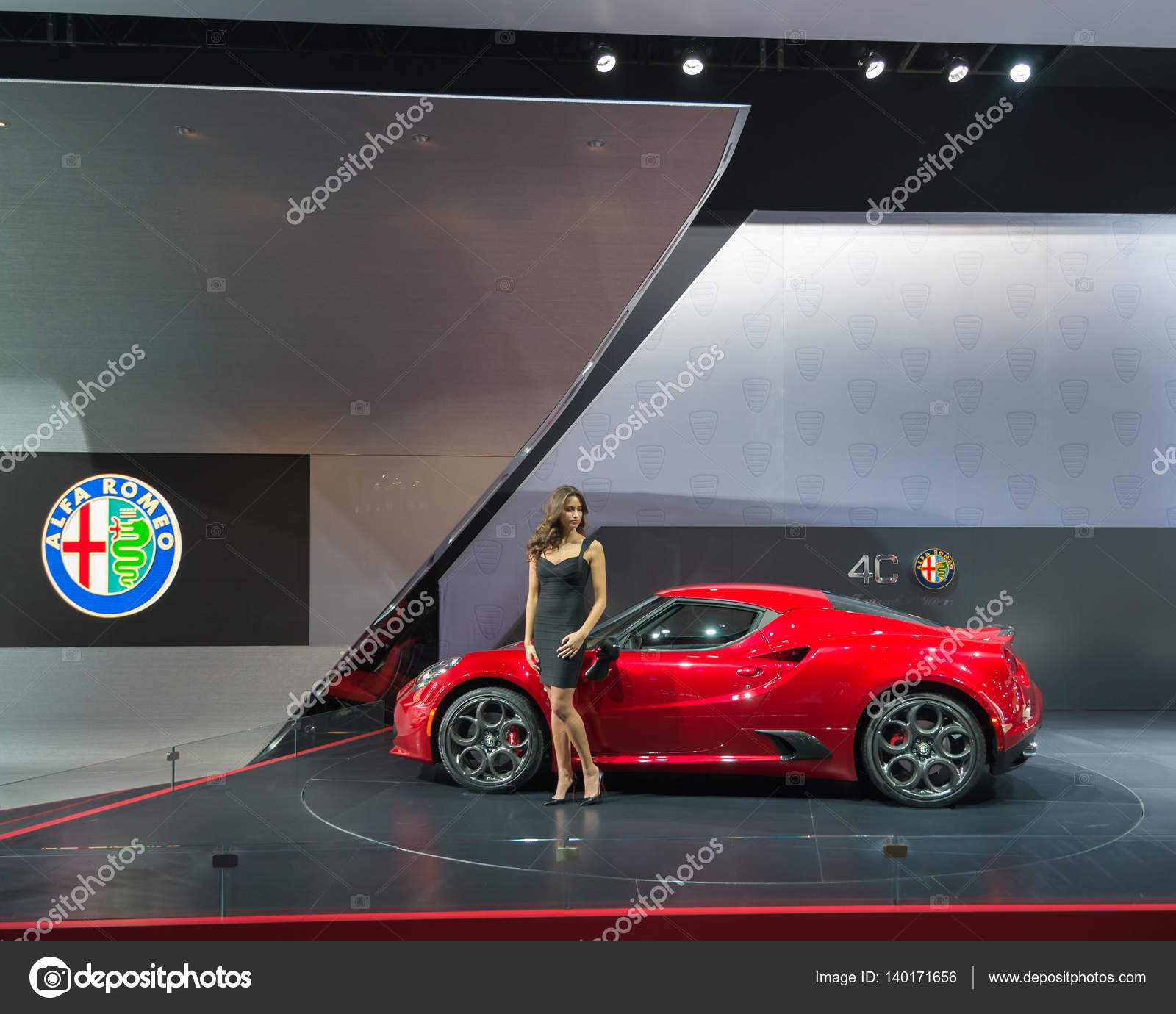 Alfa Romeo 4c Spider Zdjęcie stockowe editorial © slagreca gmail