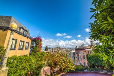 blue sky over San Francisco bay