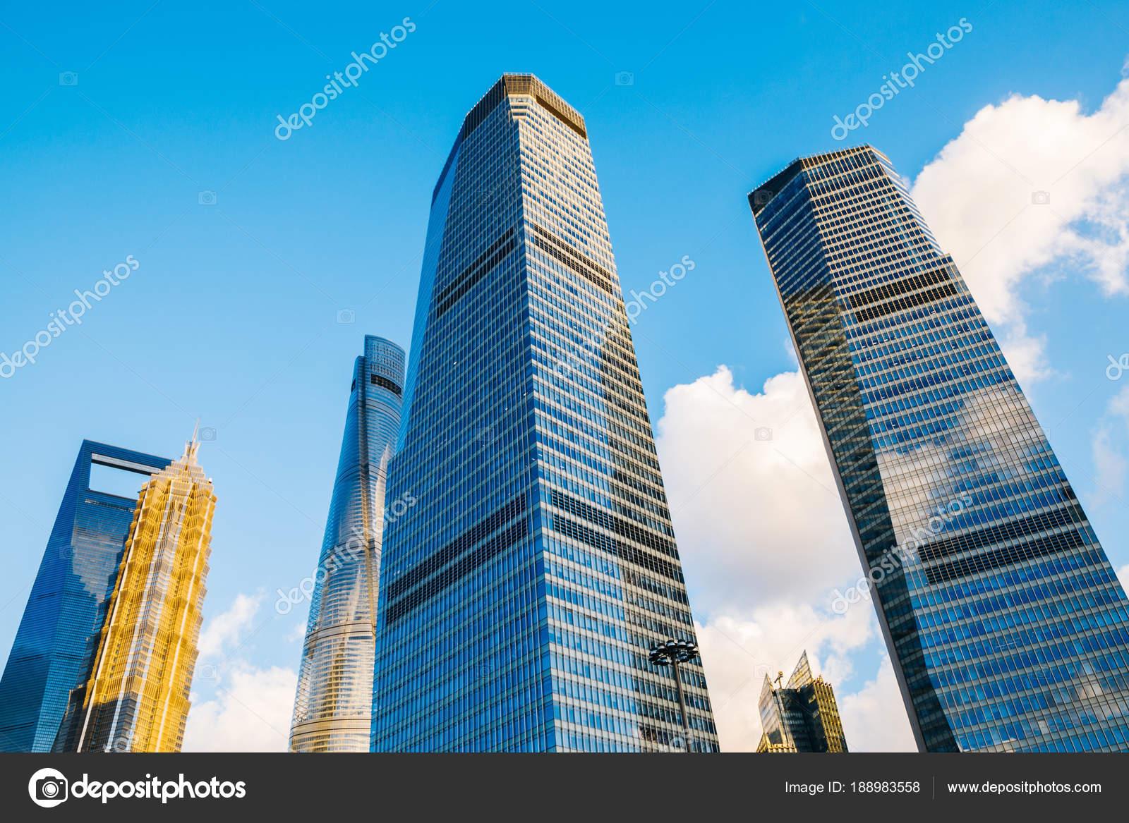shanghai modern buildings in china stock photo sangapark 188983558