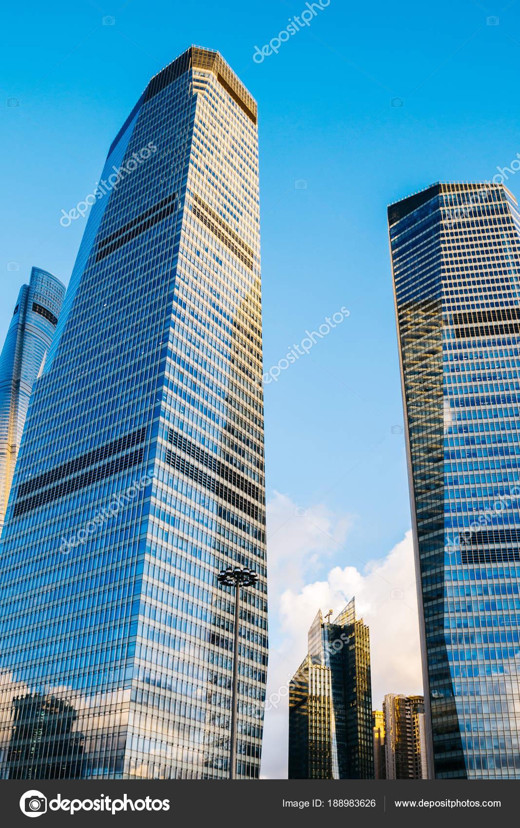 shanghai modern buildings in china stock photo sangapark 188983626