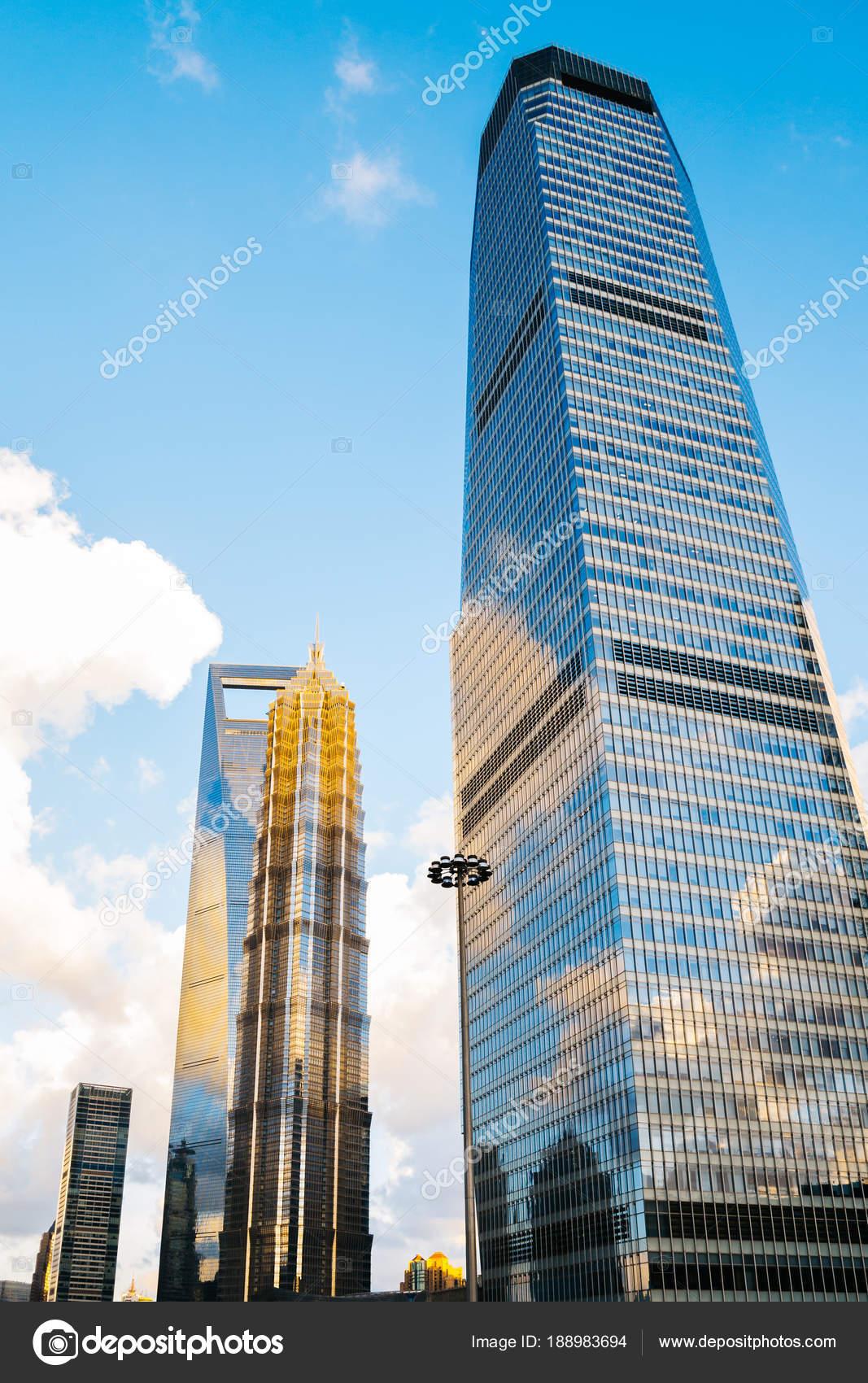 shanghai modern buildings in china stock photo sangapark 188983694
