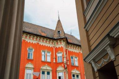 Vojnica palata historical architecture in Subotica, Serbia