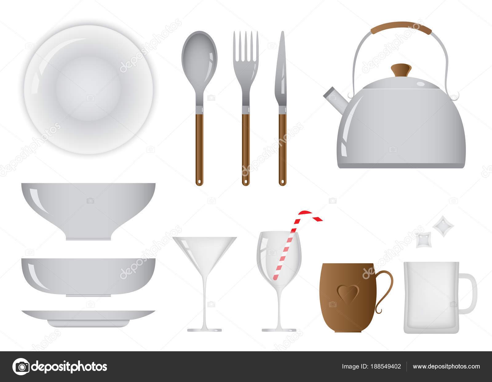 Objetos de metal de uso cotidiano objetos cotidianos de la cocina y el comedor equipo foto - Objetos de cocina ...