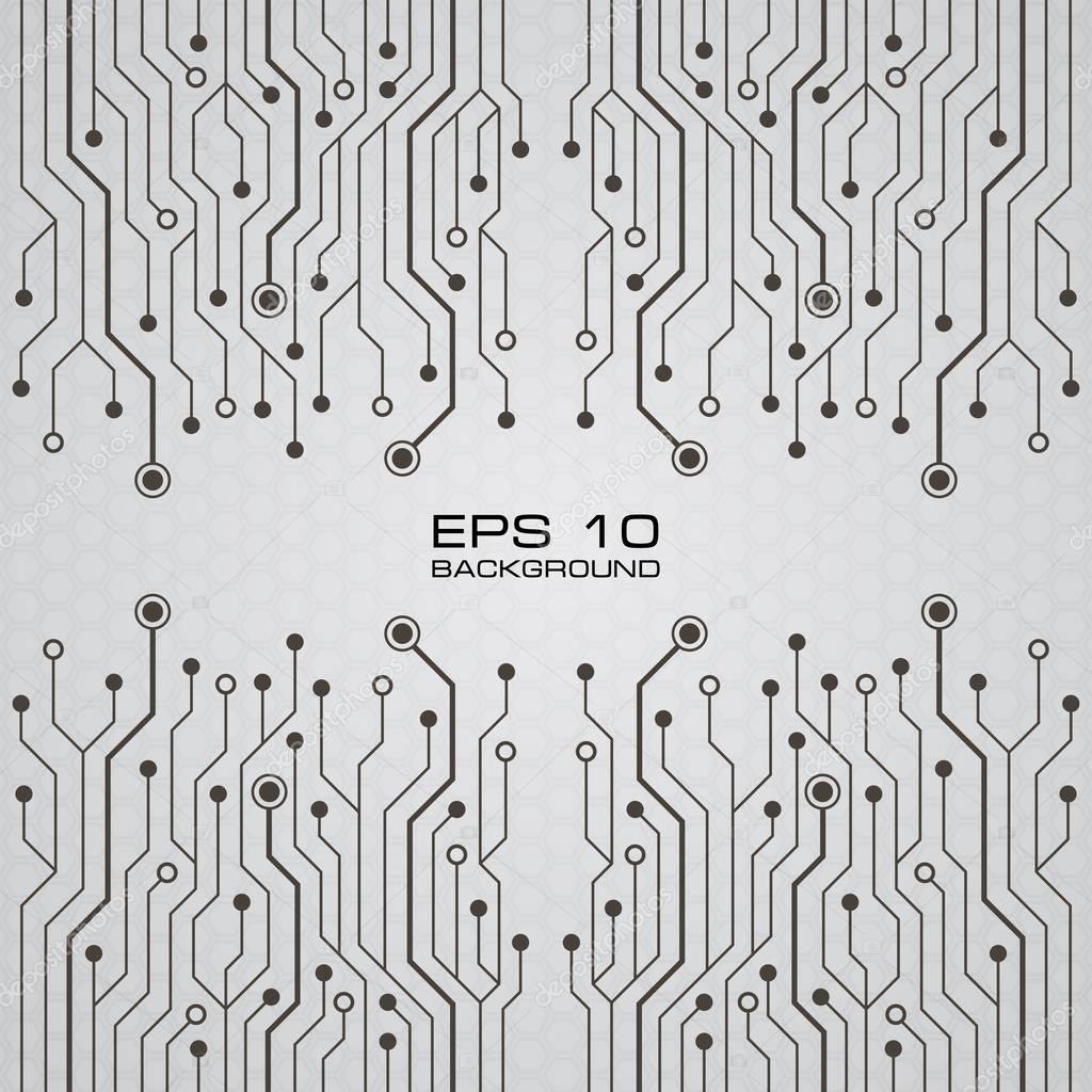 fond de carte circuit imprim u00e9 vector  u2014 image vectorielle