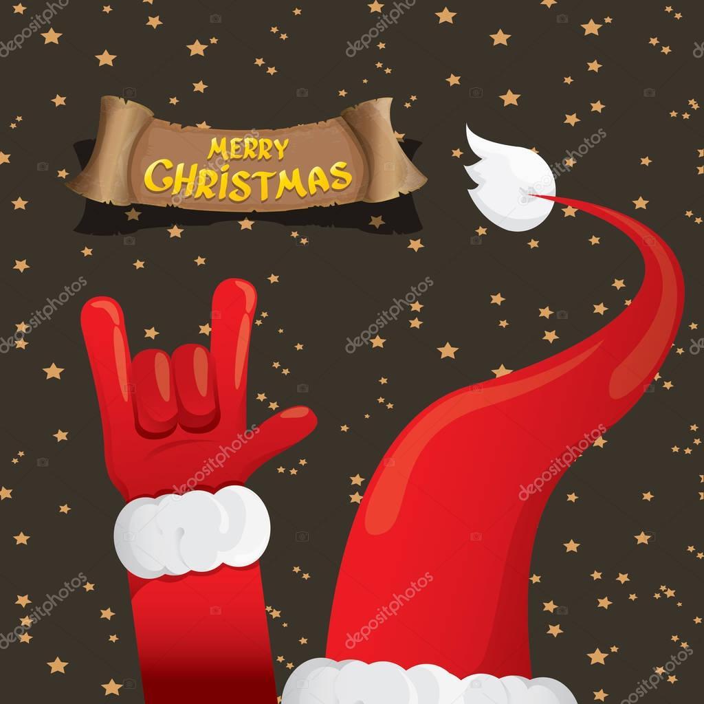 Christmas Rock \' n Roll-Grußkarte — Stockvektor © zm1ter #129991886