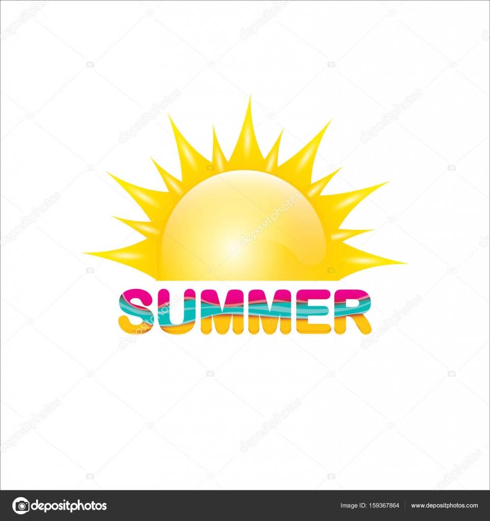 tiquette de vecteur de l 39 t ic ne de l 39 t avec le soleil image vectorielle zm1ter 159367864. Black Bedroom Furniture Sets. Home Design Ideas