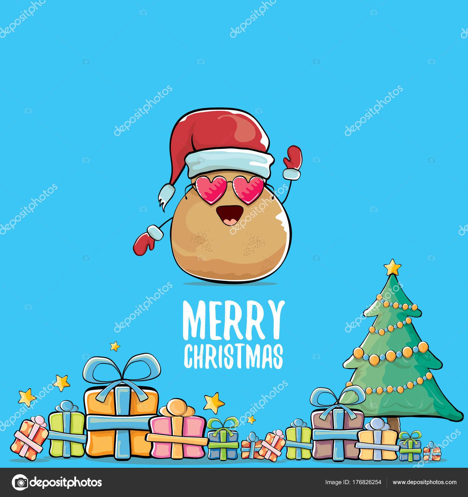 Immagini Comiche Natale.Foto Comiche Patata Patata Di Babbo Natale Sorridente