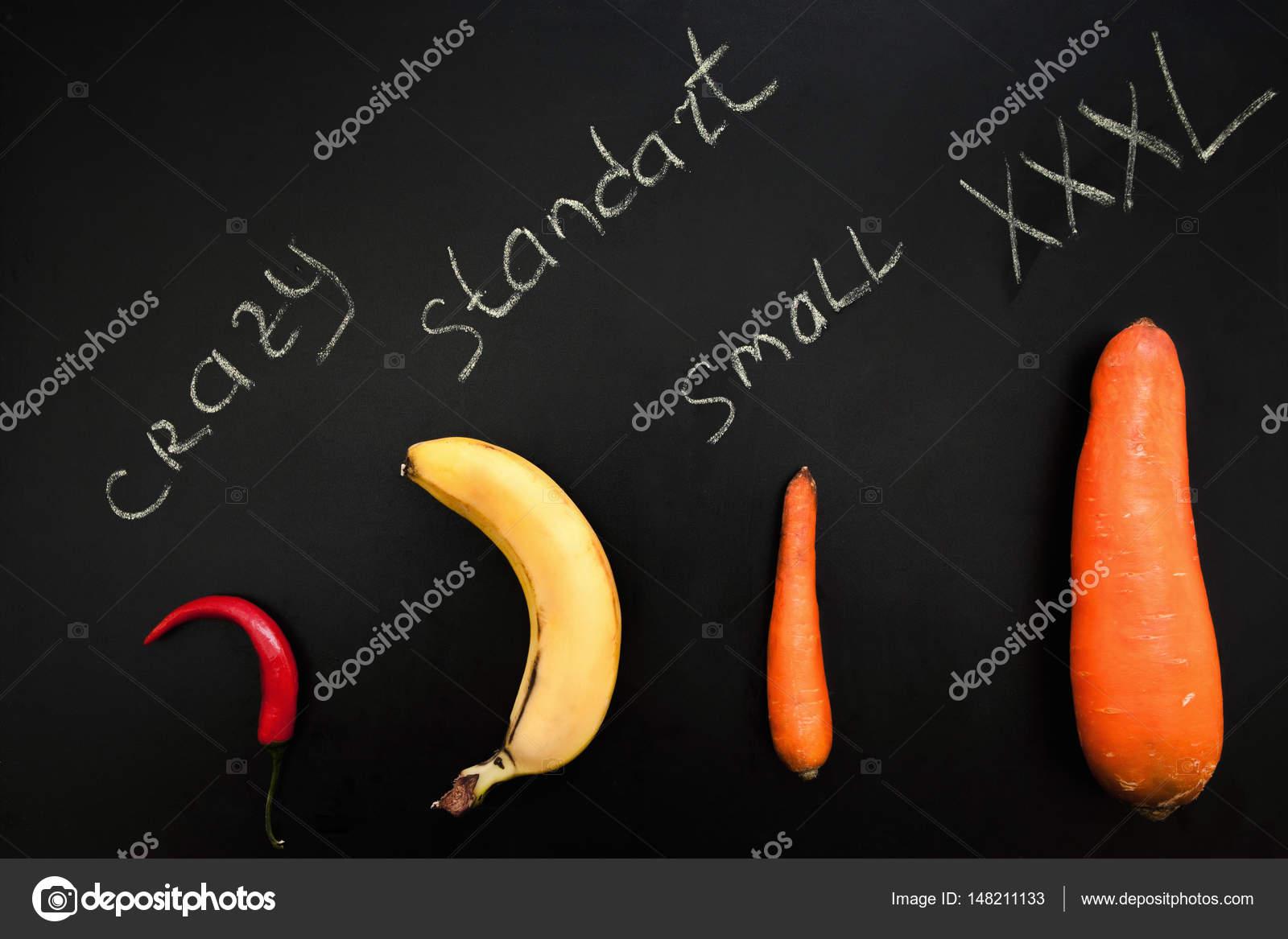 Овощи фрукты похожие на член мужчины