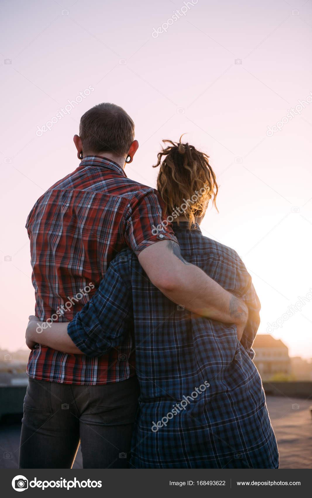 Romantic date outdoors cuddling love couple stock photo romantic date outdoors cuddling love couple stock photo altavistaventures Images