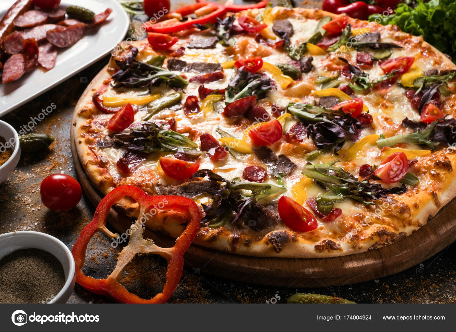 Famoso California Pizza Menú De Cocina Nutrición Composición - Ideas ...