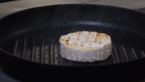 jídlo restaurace menu gurmánské jídlo sýr grilování