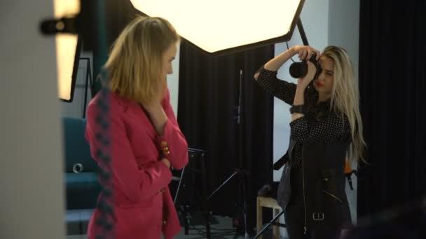 Arbeitsbereich Fotoausrüstung Backstage Mode