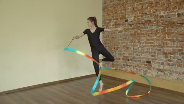 sport arte calisthenics nastro esercitazione