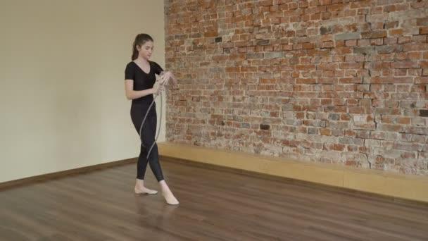 sport fitness gymnastics rope exercise training