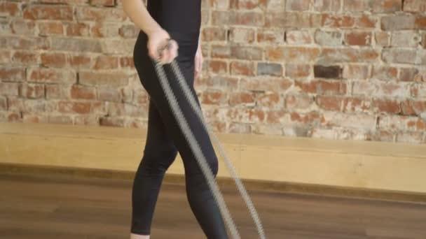 sportovní sportovec životní styl gymnastický provaz školení