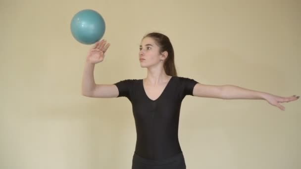 sport gymnastics fitness lifestyle ball exercise