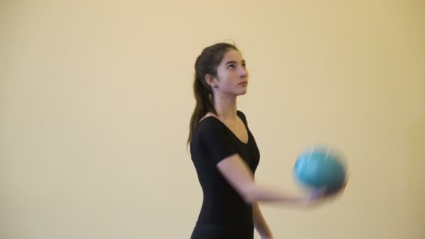 sportovní gymnastika přizpůsobit životní styl rozcvičku míč