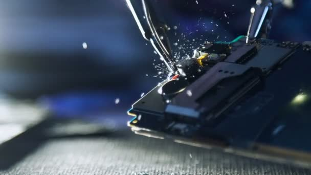 dílně kurzy dráty telefon pájení opravu