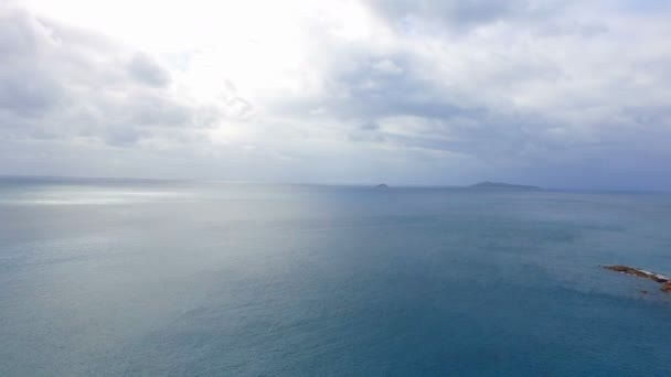 Letecký pohled na Indického oceánu, ostrov Praslin, Seychely 1